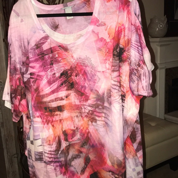 6f61dec476 Catherines Tops - Plus size 5x fits more like 3x 4x short sleeve tee